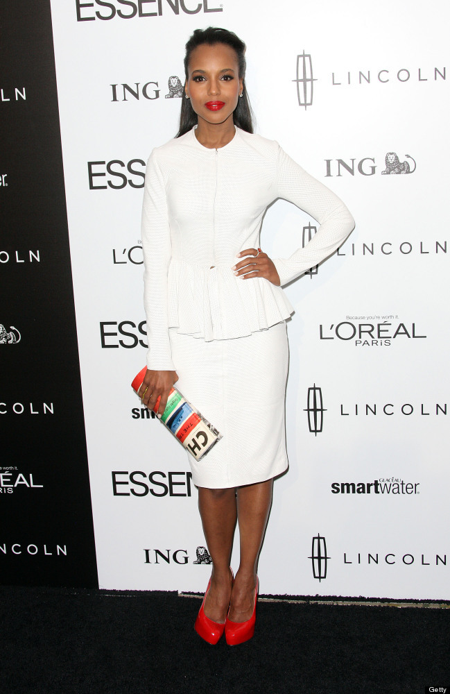 BEVERLY HILLS, CA - FEBRUARY 23:  Actress Kerry Washington attends the 5th Annual ESSENCE Black Women in Hollywood Luncheon a