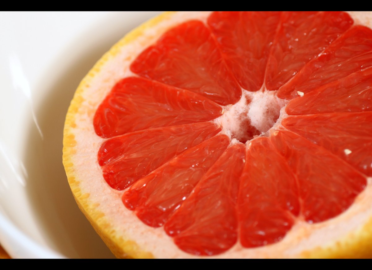 """Oatmeal isn't the only heart-friendly breakfast: Enjoying one grapefruit a day can help lower """"bad"""" LDL cholesterol levels by"""