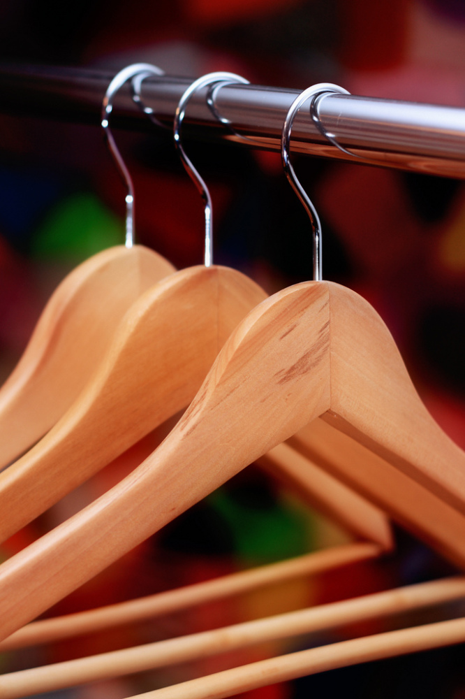 """I'm like a self-diagnosed obsessive compulsive maniac. I have to have all of my hangers facing in the same direction, my rug"