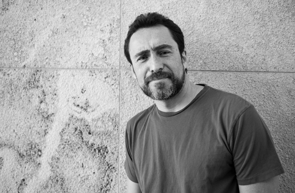 Actor Demian Bichir at the Los Angeles County Museum of Art (LACMA). Photographed by Estevan Oriol.