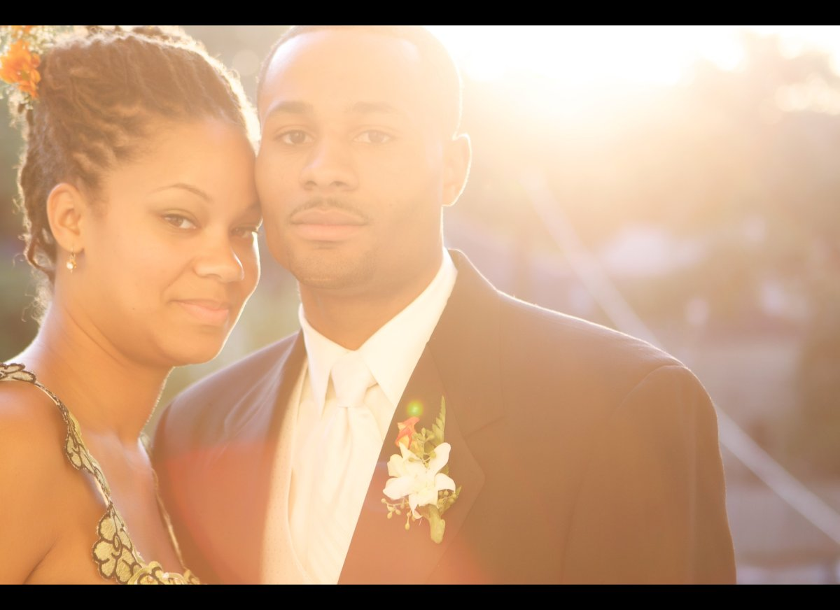 Moriah and Kevin Thompson were married on October 21, 2011.  The bride, 23, is a registered nurse and the bridegroom, 23, i