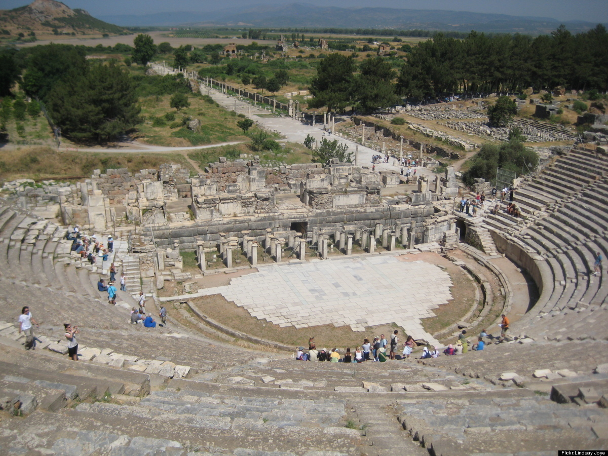 "<em>If all the world's a stage, then this is the center of the earth...</em><a href=""http://www.historvius.com/ephesus-188/"""