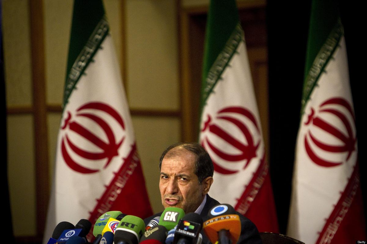 Iranian Interior Minister Mostafa Mohammad Najjar holds a press conference in Tehran on February 29, 2012. Iran's 48 million