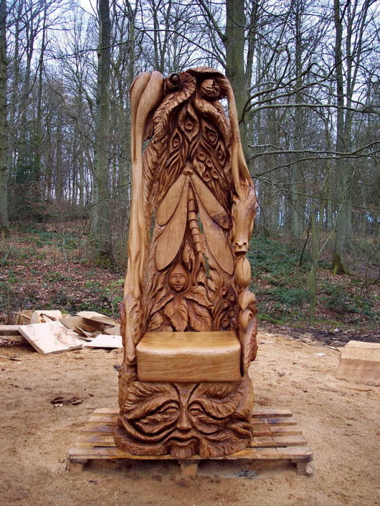 Faerie Story Telling Chair  2012
