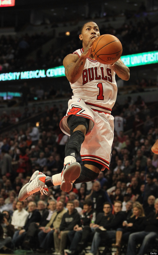 MVP, point guard, Chicago Bulls. Rose is known for accomplishing the unthinkable! Every time you're about to jump out the win