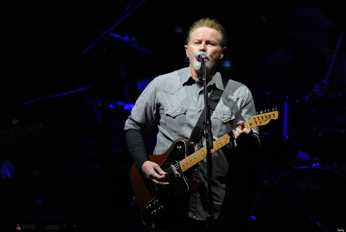 PADDOCK WOOD, UNITED KINGDOM - JULY 01: Don Henley from rock band 'The Eagles' performs at Hop Farm festival at The Hop Farm