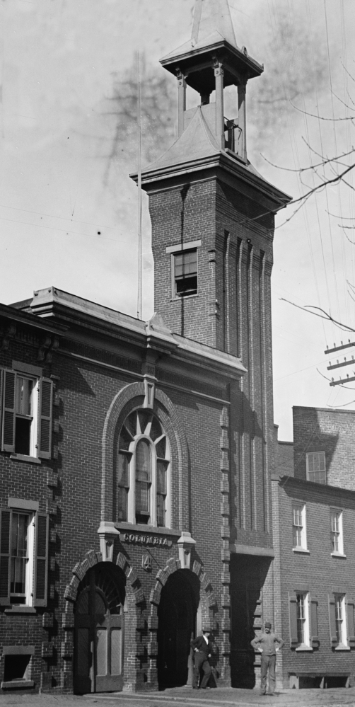 Among Alexandria's 19th-century firehouses is the Columbia Firehouse at 109 South St. Asaph St. Built in 1883, this historic