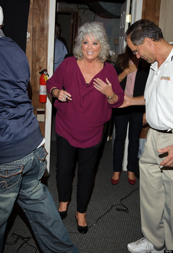 RIDGEWOOD, NJ - OCTOBER 12:  Paula Deen promotes the new book 'Paula's Southern Cooking Bible' at Bookends Bookstore on Octob
