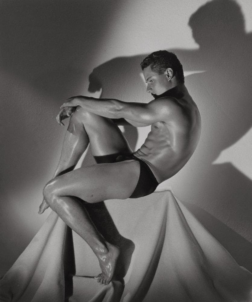 Herb Ritts (American, 1952 - 2002) Greg Louganis, Hollywood, 1985 American Gelatin silver print Image: 46 x 38.5 cm (18 1/8