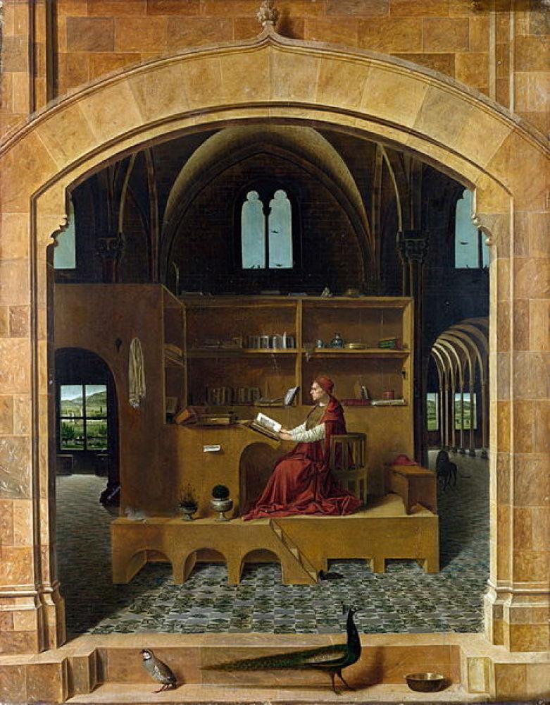 Antonello da Messina St. Jerome in His Study ~1460