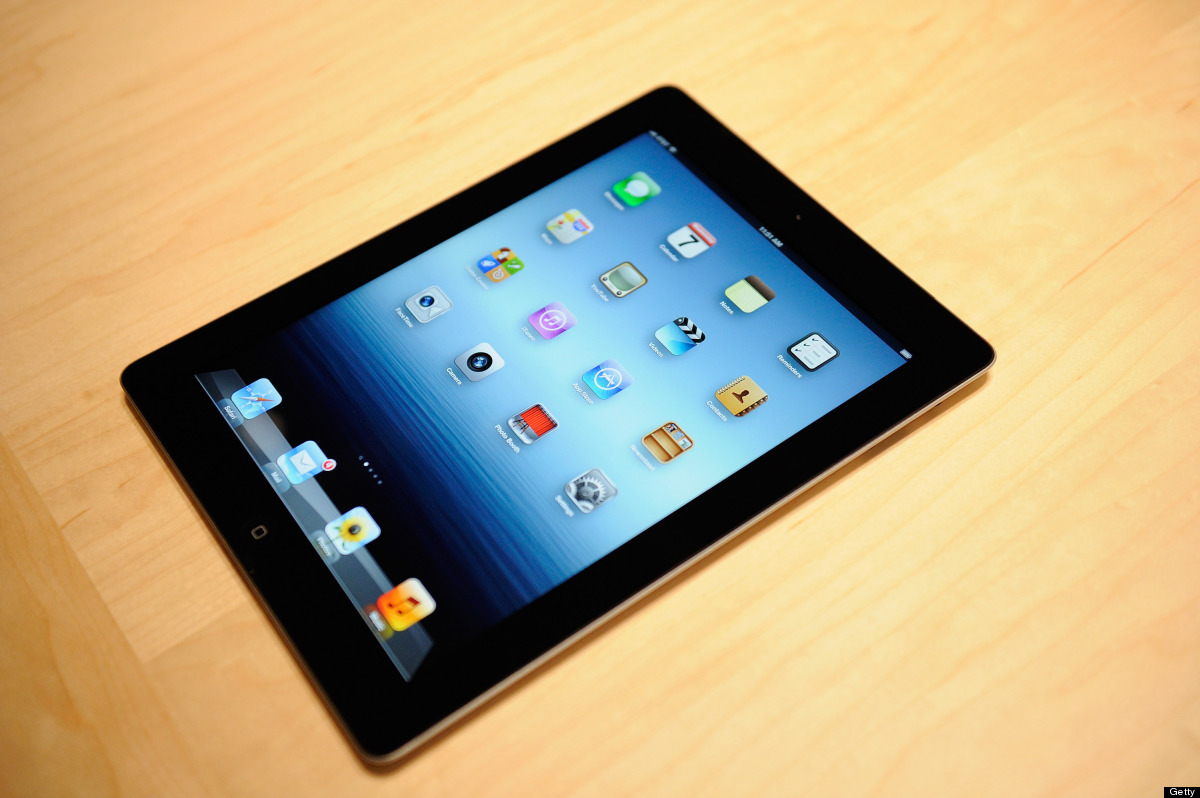 SAN FRANCISCO, CA - MARCH 07:  The new iPad is displayed during an Apple product launch event at Yerba Buena Center for the A