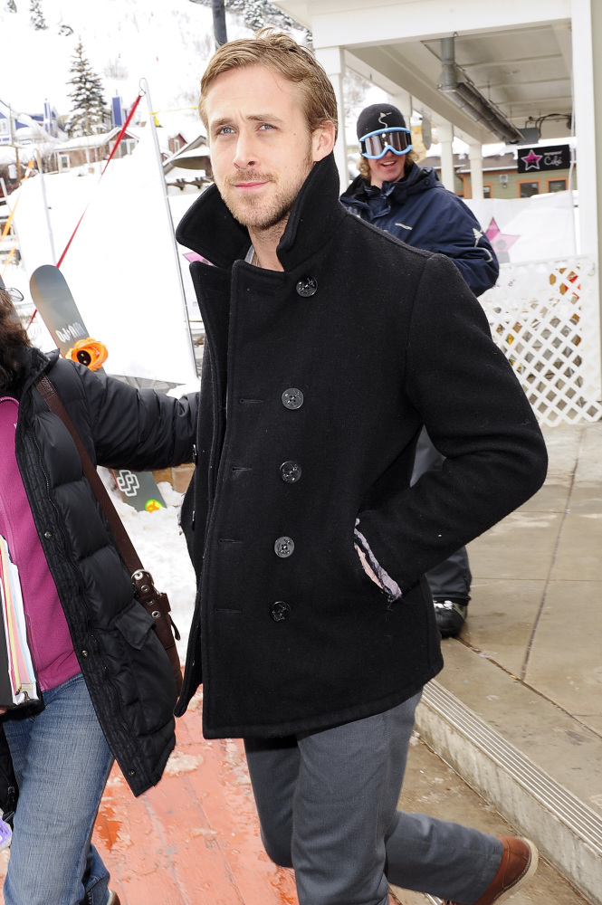 PARK CITY, UT - Actor Ryan Gosling walks in Park City on January 25, 2010 in Park City, Utah.