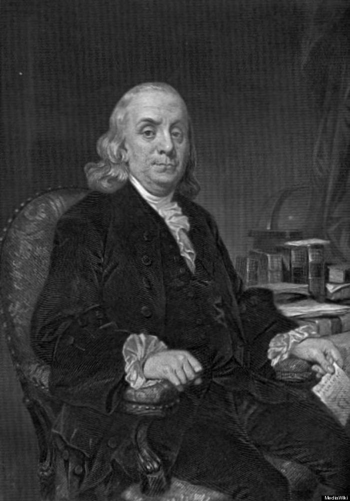 "An aging Franklin jokingly suggested that <a href=""http://www.webexhibits.org/daylightsaving/franklin.html"" target=""_hplink"">"