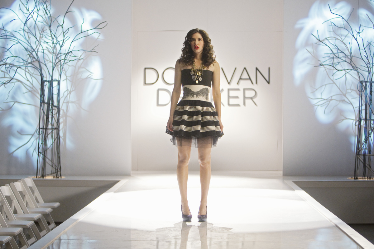 Watch out Blaire Waldorf! Jane Quimby is quickly becoming one of the most fashionable girls on TV. At the Donovan Decker fash