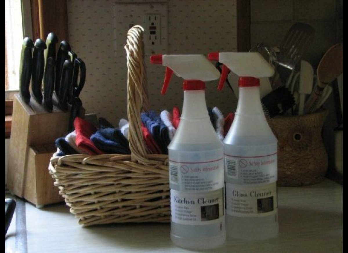 1. Cleaners are the easiest thing in the world to switch, since the eco-friendly versions work just as well, if not better, t