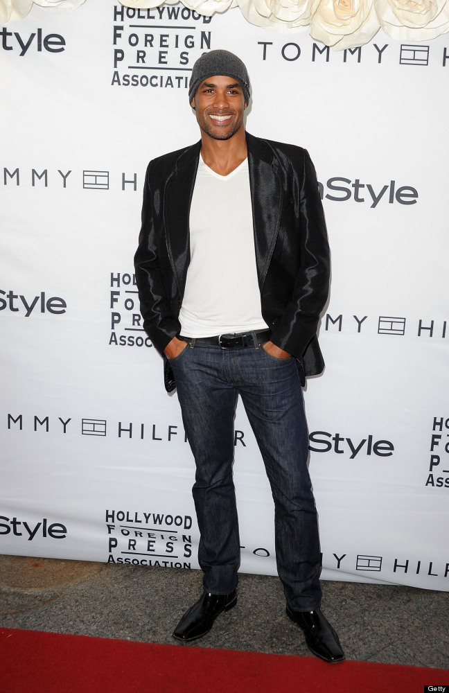 Actor Boris Kodjoe arrives at the InStyle And The Hollywood Foreign Press Association's Annual Event during the 2011 Toronto