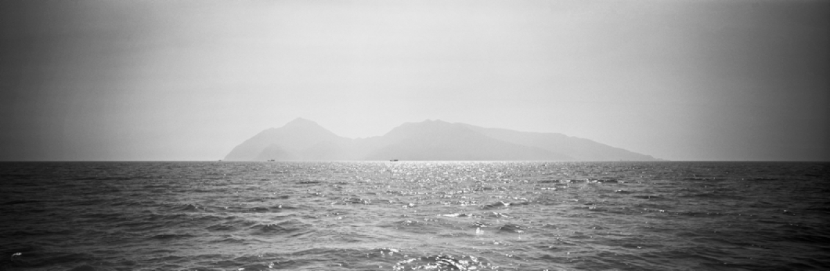 "Luo Changwei, ""Da Qin Island from afar"", Digital Photograph, 2010-2011, Courtesy of 88Books"