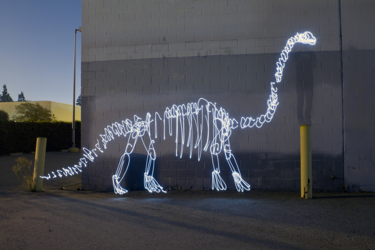 """<strong>""""Light Fossils"""" is inspired by Los Angeles' pre-historic past. What sparked that idea? </strong>  I'm sure it had s"""