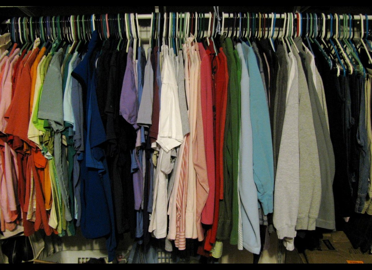 If you have a closet full of clothes that are still in good condition but just aren't your size or style anymore, you could b
