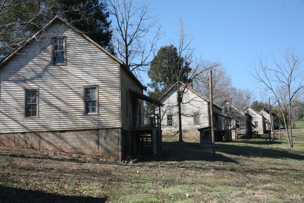 This undated image provided by VisitNC.com shows the abandoned Henry River Mill Village in Hildebran, N.C., where scenes from