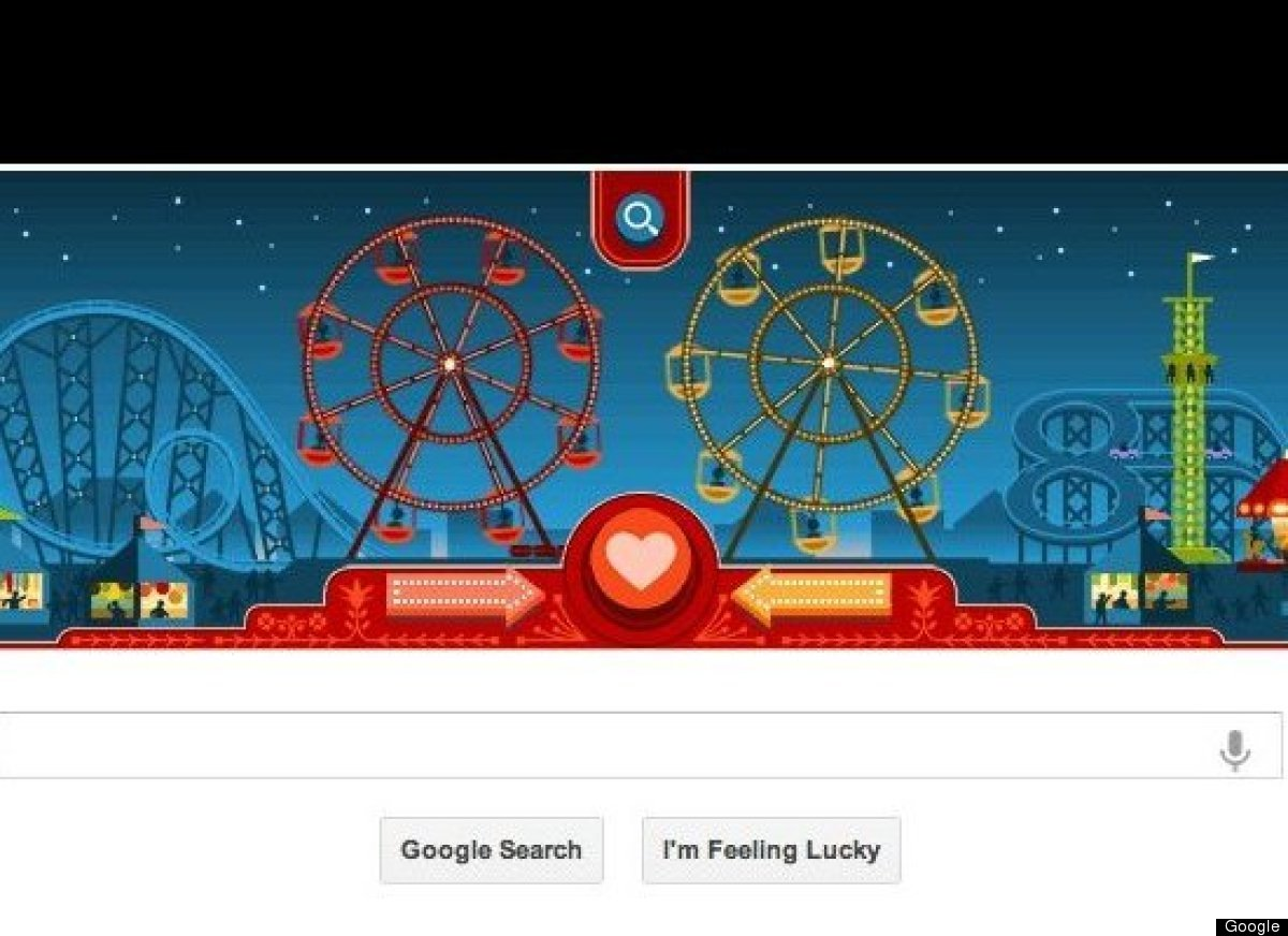 "On February 14th, 2013, Google celebrated both <a href=""http://www.huffingtonpost.com/2013/02/14/george-ferris_n_2685966.html"