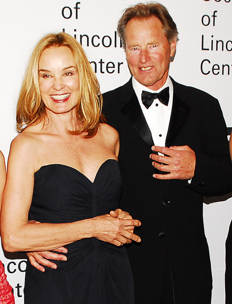 "Jessica Lange and actor-writer Sam Shepard met on the set of 1982's ""Frances."" The couple went on to spend nearly three decad"
