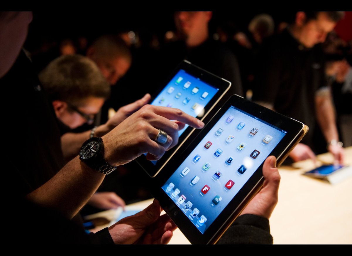 "This bold declaration by TechCrunch's MG Siegler pretty much says it all: ""Once you see and use the new iPad, there will be n"