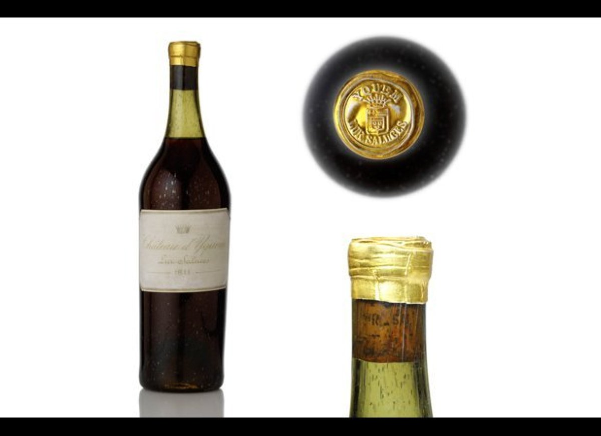 Christian Vanneque, who runs SIP Wine Bar in Bali, Indonesia, paid $117,000 for this bottle of 1811 Chateau d'Yquem. The Wall