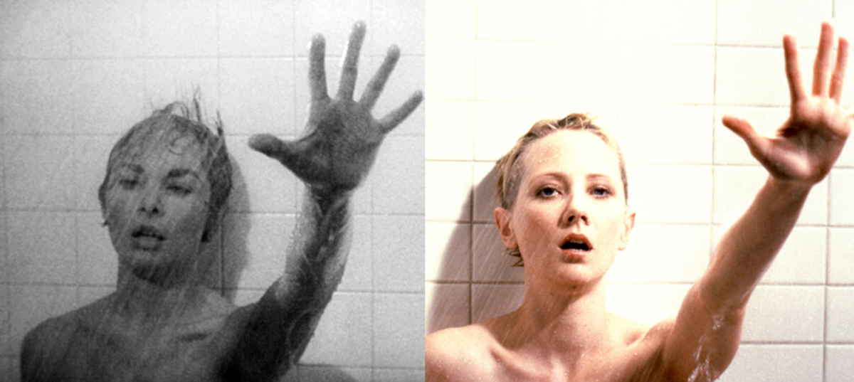 The famous shower scene from Alfred Hitchcock's 1960 classic starred actress Janet Leigh as Marion Crane. In the shot-for-sho