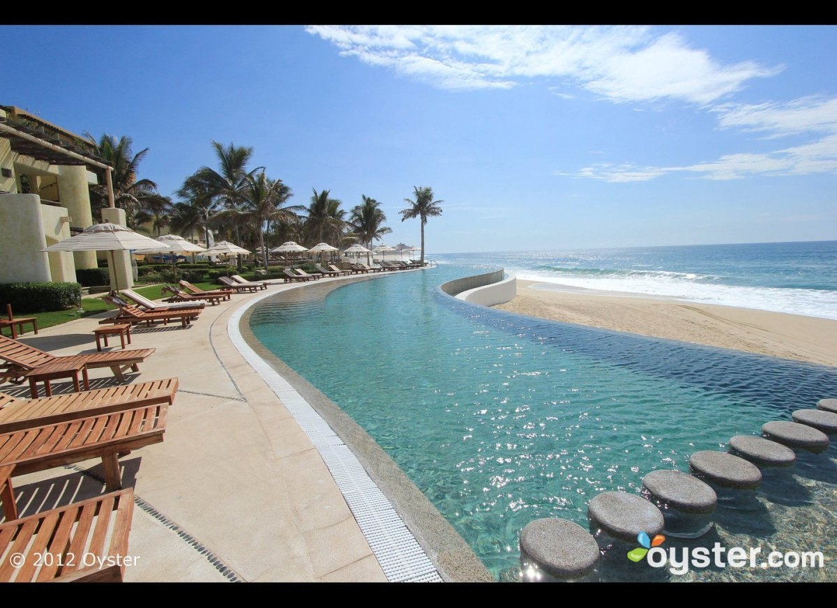 """<strong>Why We Love It:</strong> With its sleek, hacienda-style rooms, <a href=""""http://www.oyster.com/los-cabos/hotels/secret"""