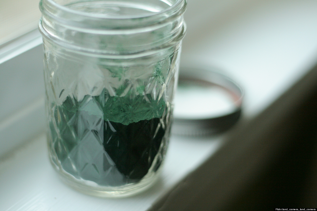This lake algae is harvested, dried and often put into powdered form, where it can be added to smoothies, soups, baked goods