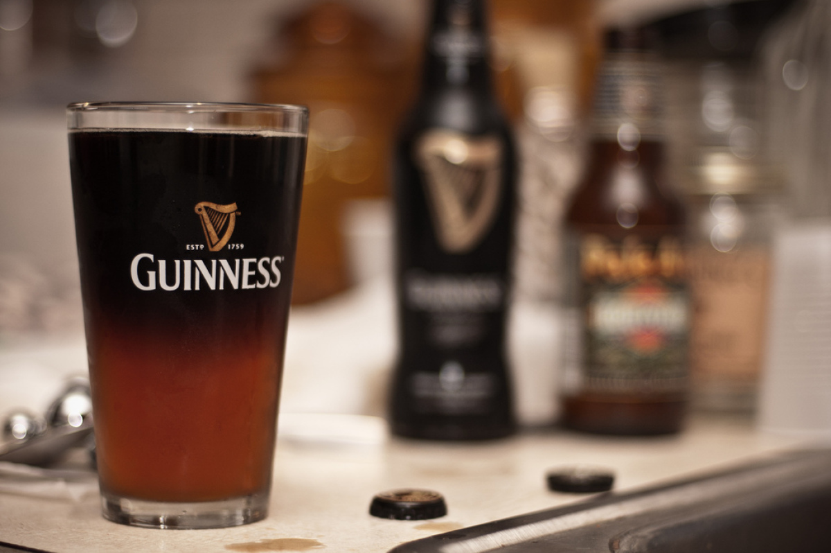 """Though this is widely thought to be an Irish tradition, the """"Black and Tan"""" moniker usually used for this drink is actually o"""