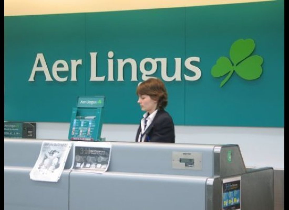 Aer Lingus at JFK.