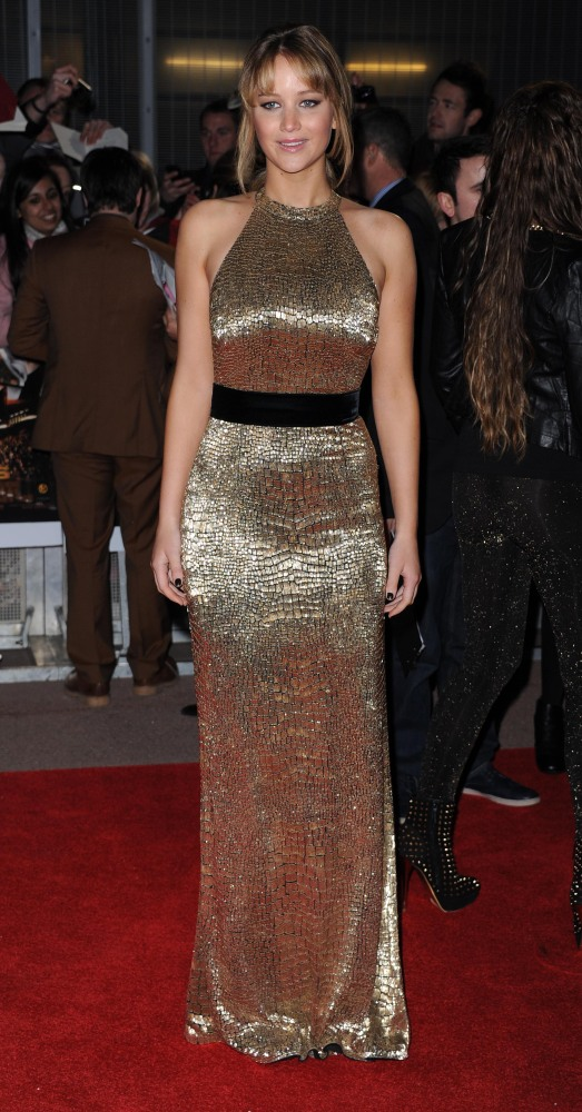 Jennifer Lawrence Tom Ford Dress Is The Best Thing Ever (PHOTOS ...