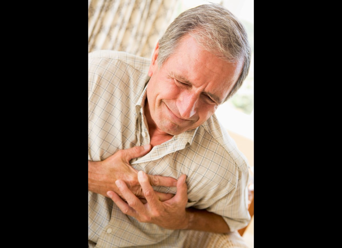 Chest pain, which occurs because stomach acid is splashing into the esophagus, is a classic acid reflux symptom. But the pain