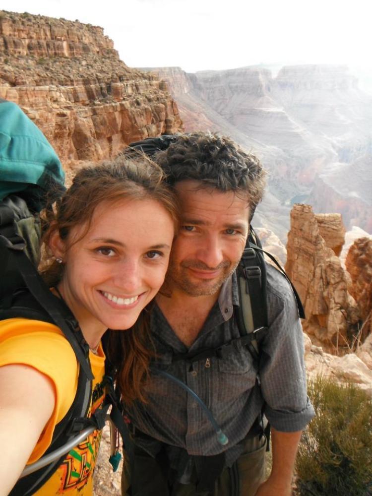 Arizona couple Ioana Hociota and Andrew Holycross had a mutual affection for the Grand Canyon.