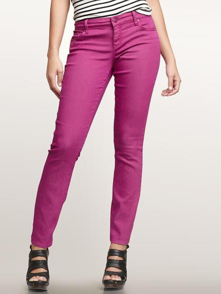 Coloured skinny jeans canada