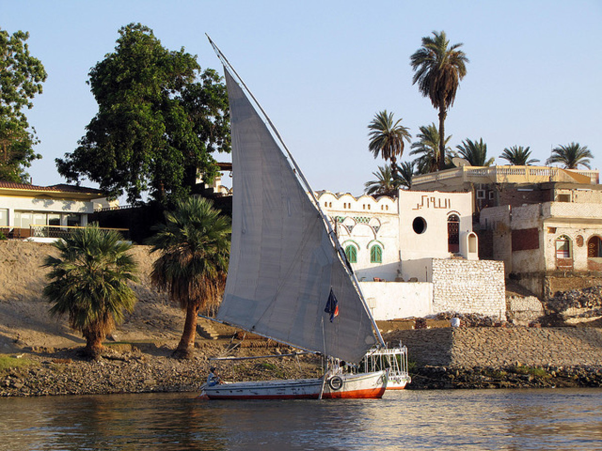 You'll feel like a pharaoh as you cruise down the Nile on this traditional Egyptian style boat, the Royal Cleopatra. Some of