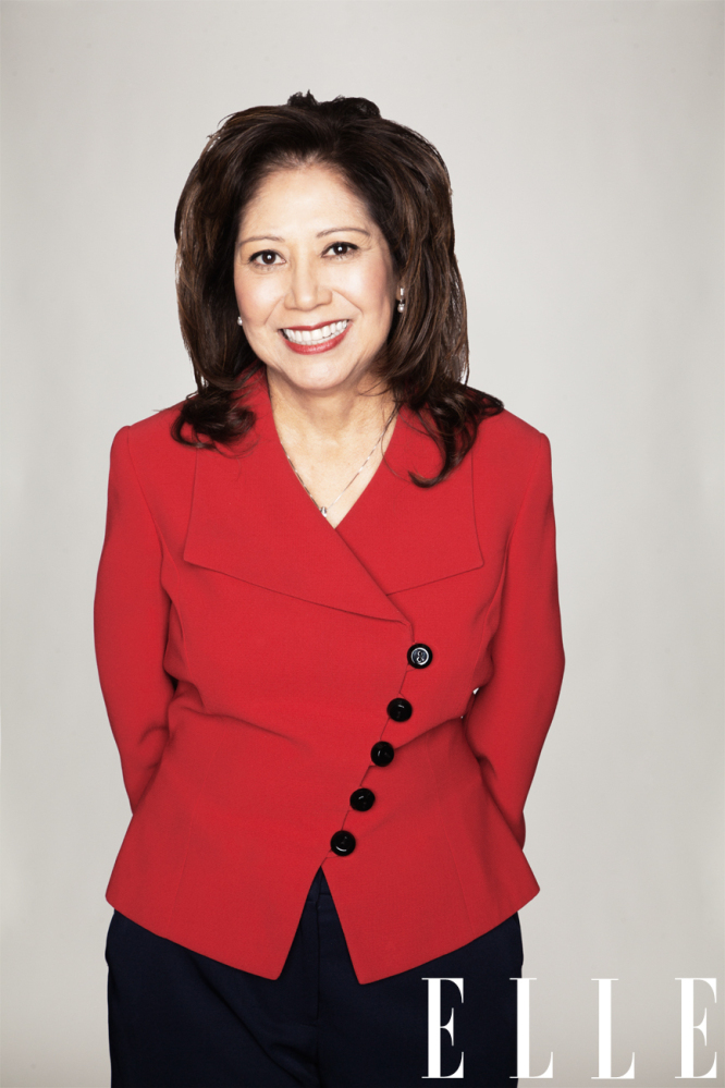 Hilda Solis, 54, is the Obama administration's Secretary of Labor. She was also the first in her family to go to college, <a