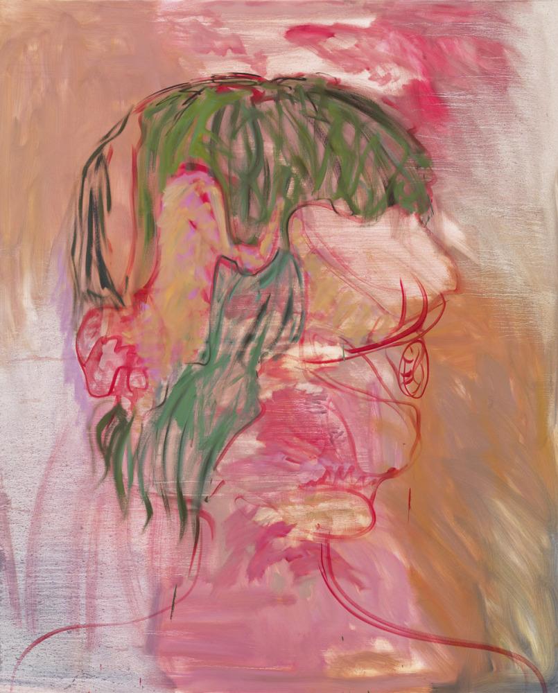 Amy Bessone Portrait, 2011-2012 Oil on canvas 244 x 198 cm Courtesy VeneKlasen Werner, Berlin