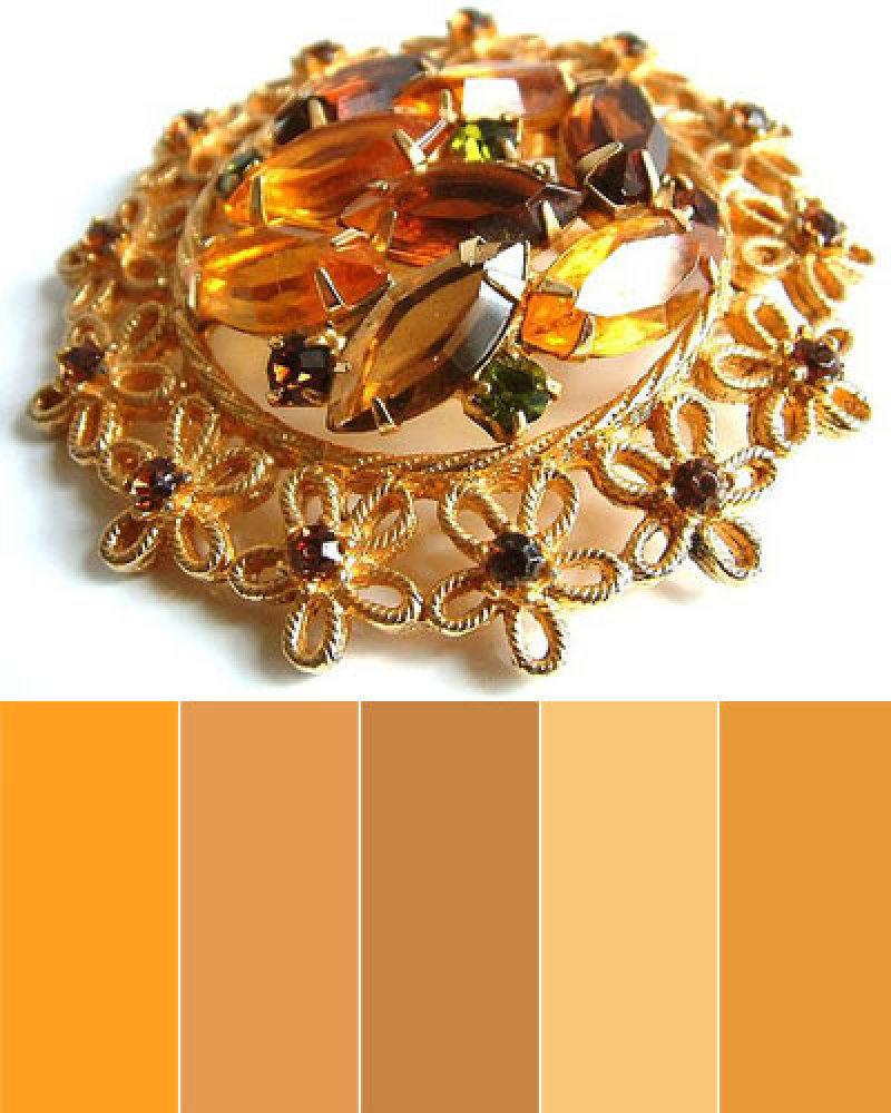 "Paint colors, from left: Tiger Eye, 203-6, by <a href=""http://www.valsparpaint.com/en/explore-colors/color-selector/index.htm"