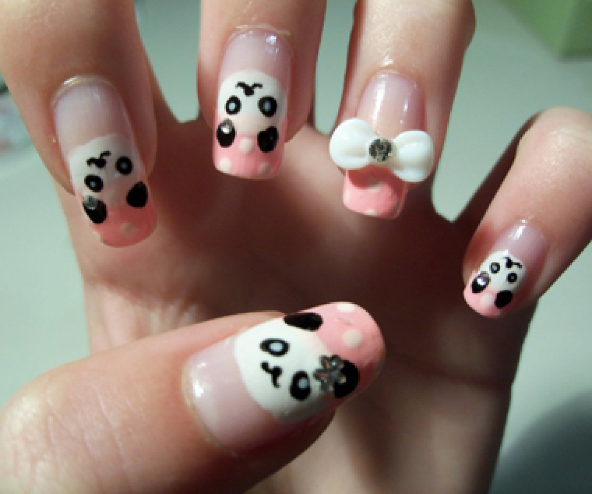 Nail art ideas 20 pics of awesome panda and penguin manicures nail art ideas 20 pics of awesome panda and penguin manicures prinsesfo Image collections