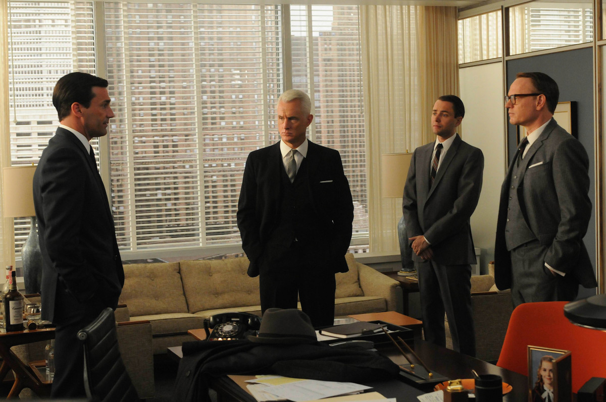 When we last left them in Season 4, Sterling Cooper Draper Pryce was struggling to stave off bankruptcy. After Sterling lost