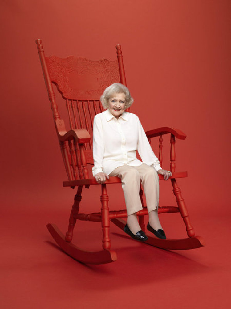 "Betty White, executive producer of ""Betty White's Off Their Rockers."""