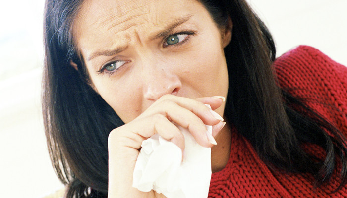 "Can't stop coughing? An ingredient in chocolate called <a href=""http://www.womenshealthmag.com/health/benefits-of-chocolate?p"