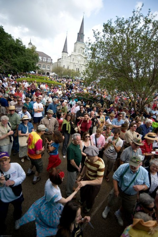 For nearly three decades, the French Quarter has held this music and food festival, which is spread out over more than 20 sta