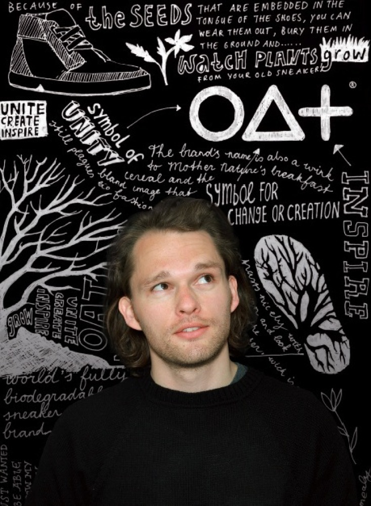 """<a href=""""http://vimeo.com/paperdollwriting/oat"""" target=""""_hplink"""">OAT Shoes</a> created the world's first fully biodegradable"""