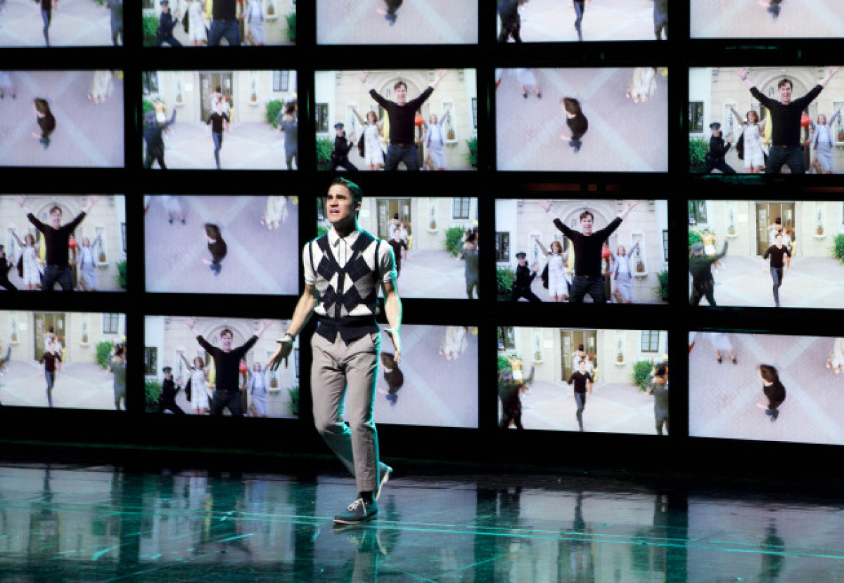 """Blaine (Darren Criss) performs in """"Big Brother,"""" the spring premiere episode of """"Glee"""" airing Tues., April 10, 8 p.m. ET on F"""