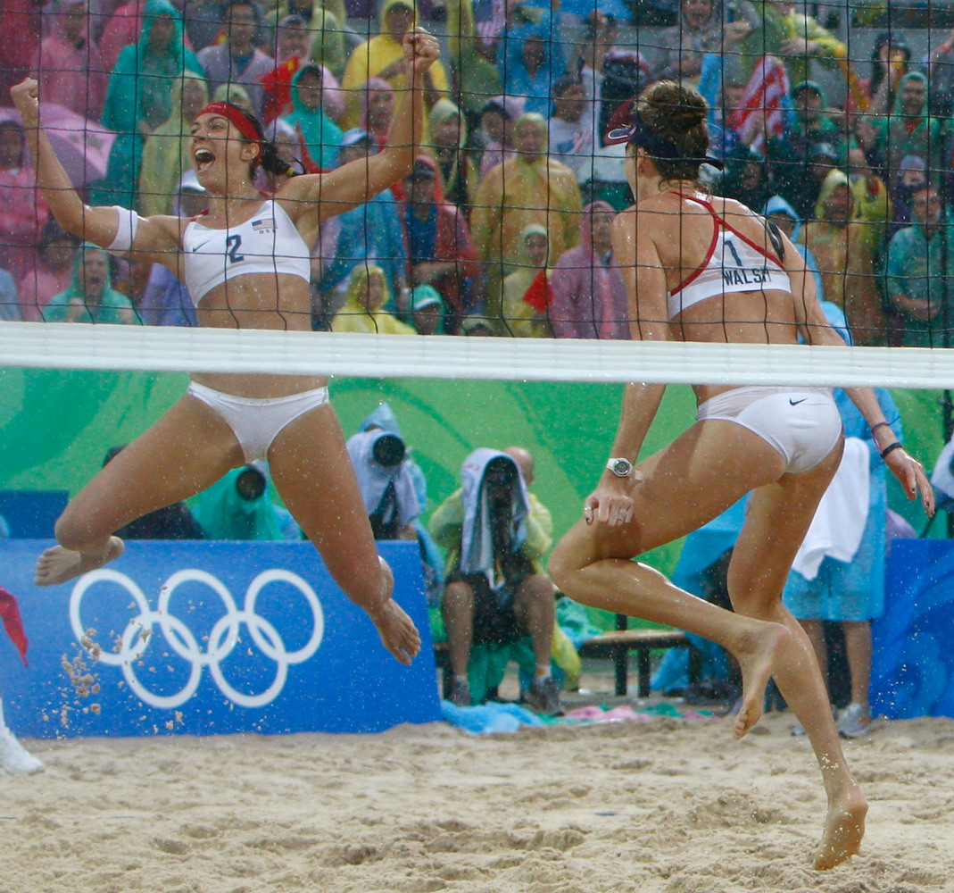 Olympic Beach Volleyball Uniforms