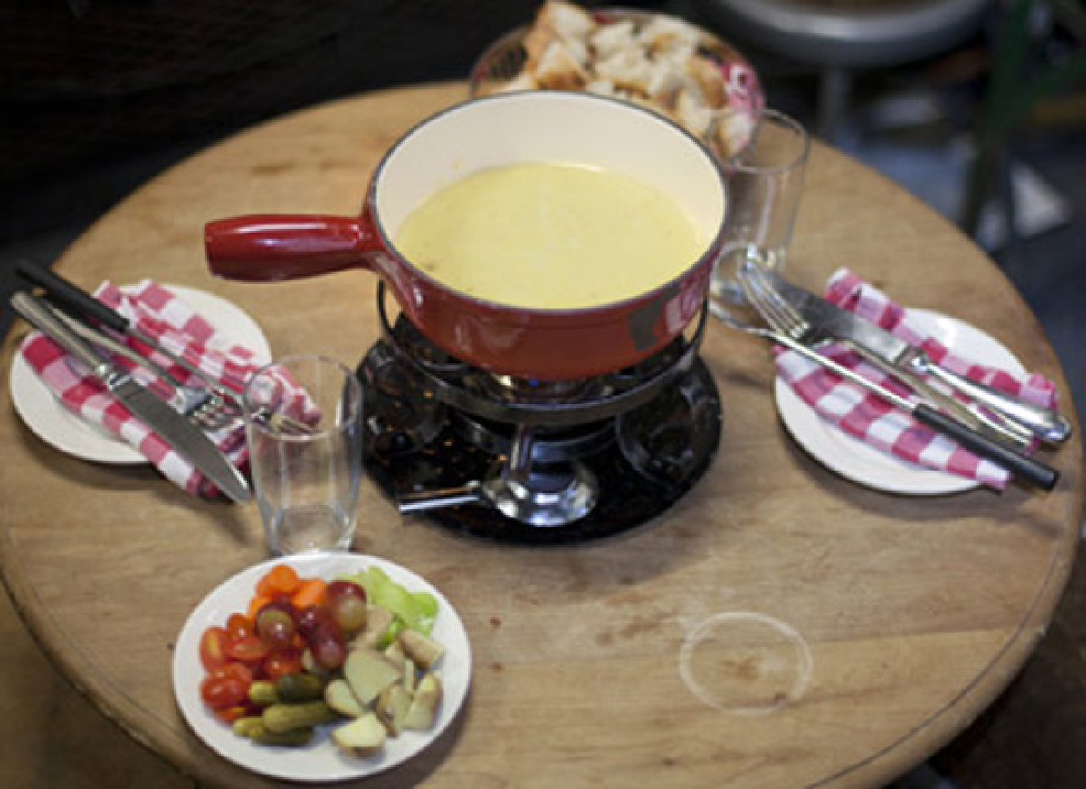 March may be on its way out, but don't miss the opportunity to dive into a pot of fondue. New York is rife with opportunities